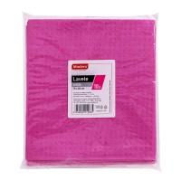 Laveta umeda Madero, roz, 18 x 20 cm, 10 buc / set