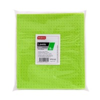 Laveta umeda Madero, verde, 18 x 20 cm, 10 buc / set