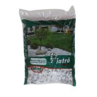 Marmura decorativa naturala sparta, interior / exterior, alba, 15-25 mm, 20 kg