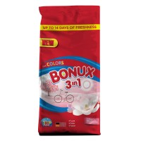 Detergent automat Bonux 3 in 1 Color Pure Magnolia, 80 spalari, 8 kg