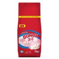 Detergent automat Bonux 3 in 1 Color Pure Magnolia, 130 spalari, 13 kg