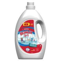 Detergent de rufe Bonux 3 in 1 Polar Ice Fresh, lichid, 65 spalari, 3.5 L