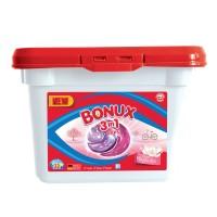 Detergent de rufe Bonux 3 in 1 Color Pure Magnolia, capsule, 690 g, 22 spalari