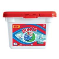 Detergent de rufe Bonux 3 in 1 Polar Ice Fresh, capsule, 690 g, 22 spalari
