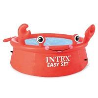 Piscina gonflabila Happy Crab Intex 26100, pentru copii, 183 x 51 cm