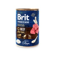 Hrana umeda pentru caini, Brit Premium by Nature, adult, carne de vita, 400g