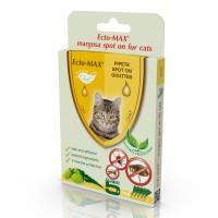 Pipeta antiparazitara Ectomax, pentru pisici, Spot on, 5 x 1 ml