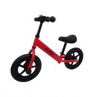 Bicicleta pentru copii, fara pedale, rosie, Maxtar A4626