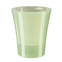 Ghiveci din plastic, Arte-Dea, cu auto-udare, verde deschis, D 15 cm