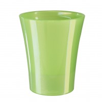 Ghiveci din plastic, Arte-Dea, cu auto-udare, verde, D 15 cm