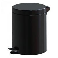 Cos gunoi cu pedala Studio Casa, metal, negru, 5 L