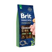 Hrana uscata pentru caini de talie foarte mare, Brit Premium by Nature Junior XL, junior, carne de pui, 15kg