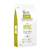 Hrana uscata pentru caini de talie mica, Brit Care Adult Small Breed Lamb & Rice, adult, carne de miel, 7.5kg