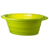 Lighean oval cu manere Crilelmar, plastic, diverse culori, 45 L, 660 x 520 x 240 mm