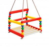Leagan copii 3320, din lemn, 30 x 30 x 25 cm
