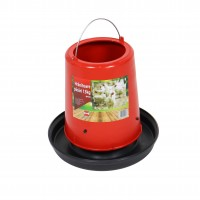 Hranitoare pentru pasari, plastic, cu maner, 13 kg, 40 x 32.5 cm