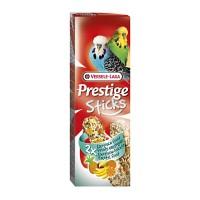 Hrana uscata pentru perusi Prestige Sticks, Versele Laga, cu fructe exotice, 60 g