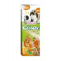 Hrana uscata pentru iepuri si porcusori de guineea Crispy Sticks, Versele Laga, cu morcov si patrunjel, 110 g