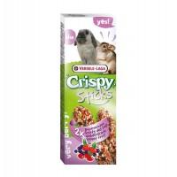Hrana uscata pentru rozatoare Crispy Sticks, Versele Laga, cu fructe de padure, 110 g