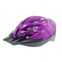 Casca protectie Sport, Bottari, pentru bicicleta, violet, marime S, 55 - 56 cm