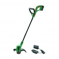Trimmer gazon Bosch Easy GrassCut 18-230 LI 06008C1A00, cu incarcator si acumulator Li-ion 18 V, 2 Ah, 23 cm