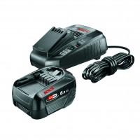 Incarcator + acumulator Li-ion Bosch 1600A00ZR8, 18V, 6 Ah