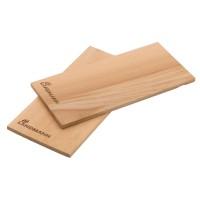Plansa pentru gatit Landmann 13956, lemn de cedru, 30 x 14 cm, set 2 buc