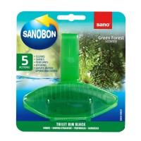 Odorizant wc Sano Bon Green Forest 5 in 1, solid, parfum pin, 55 g