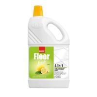 Detergent gresie si faianta Sano Floor Fresh Lemon, parfum lamaie, 2 L