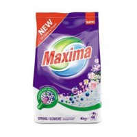 Detergent rufe automat Sano Maxima Spring Flowers, 4 kg