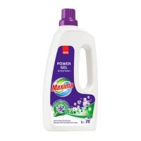 Detergent rufe gel Sano Maxima Spring Flowers, 20 spalari, 1 L