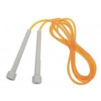 Coarda sarituri DHS Speed, PVC, portocaliu, 260 cm