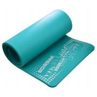 Saltea yoga DHS Exclusive Plus, spuma, turcoaz, 180 x 60 x 1.5 cm