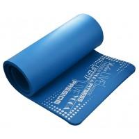 Saltea yoga DHS Exclusive Plus, spuma, albastru, 180 x 60 x 1.5 cm