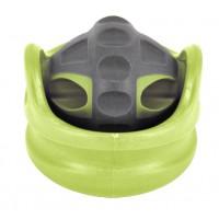 Rola masaj pentru fitness DHS Orbroll, verde, 6 cm