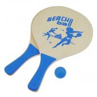 Set palete tenis de plaja DHS LifeFit, albastru