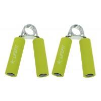 Set 2 flexori fitness DHS LifeFit , manere spuma, verde
