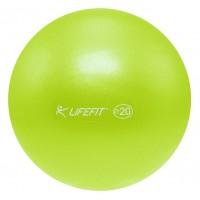 Minge fitness Overball DHS, PVC, verde, 20 cm