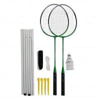 Set badminton, 2 rachete + fileu LifeFit