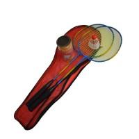 Set badminton, 2 rachete + husa LifeFit