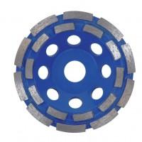 Disc diamantat, cu segmente, pentru slefuire, Hitachi, 125 x 22.2 x 5 mm