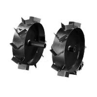 Roti metalice pentru motocultor Bronto, cu gheare, d 45 cm (1 bucata = 1 set 2 roti)