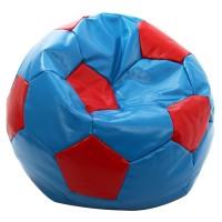 Fotoliu fix minge de fotbal, imitatie piele, diverse culori