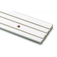Sina perdea tavan cu 3 canale GK 3 8394 PVC 250 cm alb