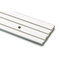 Sina perdea tavan cu 3 canale GK 3 8395 PVC 300 cm alb