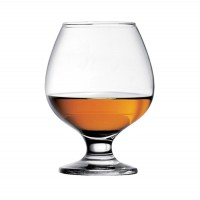 Pahar cognac, Bistro, din sticla, 395 ml, set 6 bucati