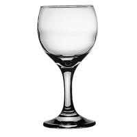 Pahar vin rosu, Bistro, din sticla, 225 ml, set 6 bucati