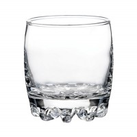 Pahar whisky, Sylvana, din sticla, 315 ml, set 6 bucati