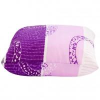 Perna pentru dormit Meltem, puf siliconic + microfibra, diverse culori, 40 x 40 cm
