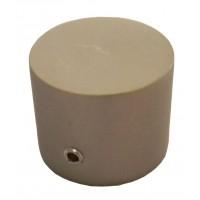 Cap galerie Endcap, 20 mm, inox
